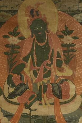 Antique Mongolian Green Tara