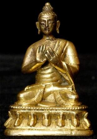 Authentic 18/19thC Tibeto-Chinese or Mongolian Bronze