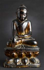"""special form of protective Buddha from Burma- """"Lotus"""
