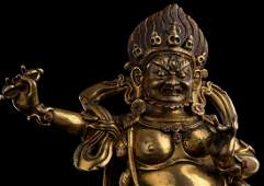 8thC Tibetan Fierce Deity. From an old high-end Swedish