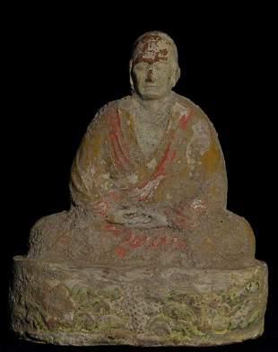 Superb 10th century Chinese Monk.