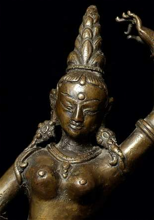 A Superb Nepalese Bodhisattva.