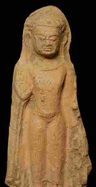 Authentic 11-13thC Dvarati Standing Buddha on Custom