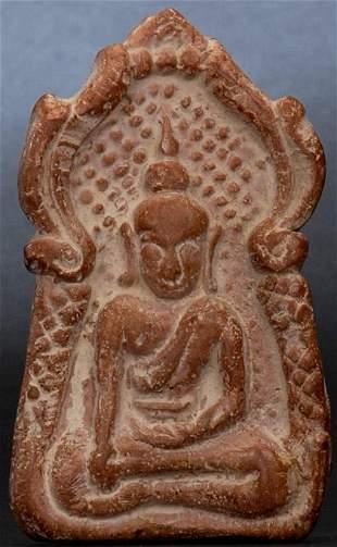 Very good antique Thai or Burmese Buddha image in