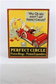 Perfect Circle Piston Ring-Expander Tin Sign
