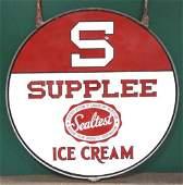 Porcelain Sealtest Ice Cream Sign