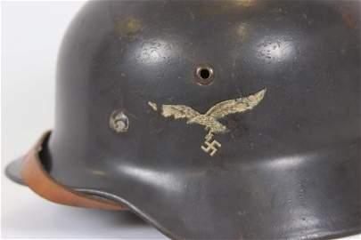 German WWII Model 35 Double Decal Helmet