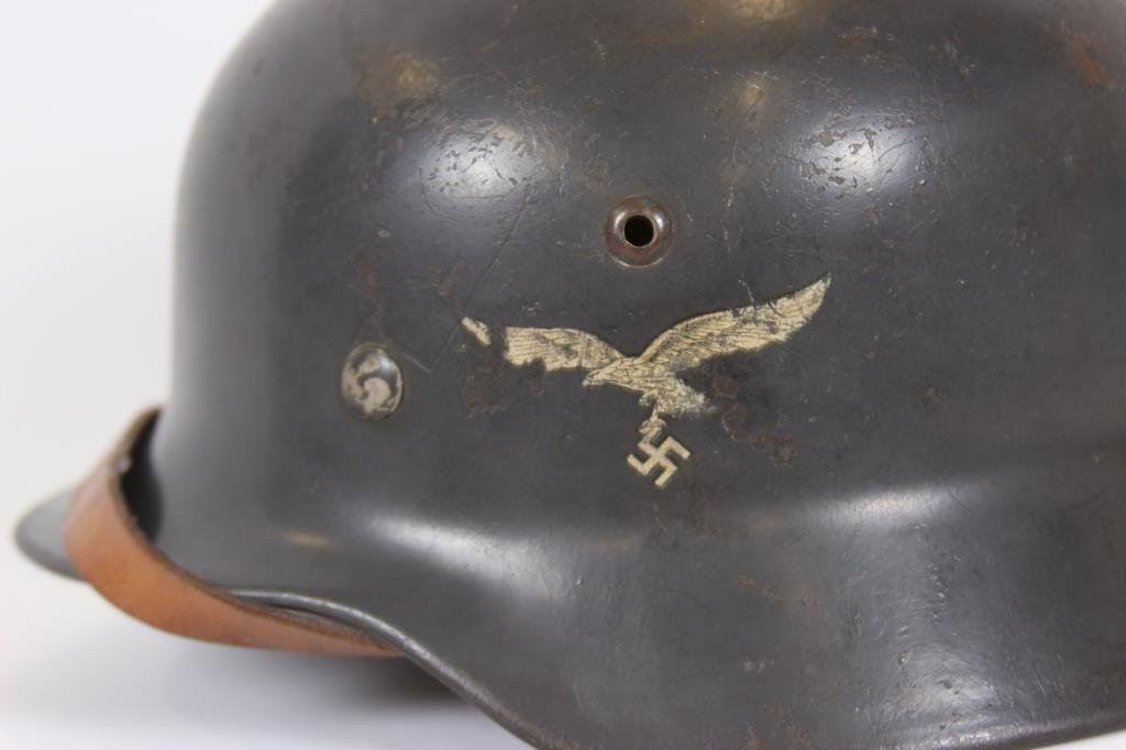 German WWII Model 35 Double Decal Helmet