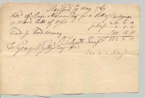 4245: ROGER SHERMAN AUTOGRAPH DOCUMENT SIGNED