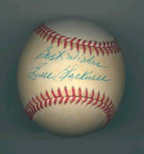 4618: EWELL BLACKWELL SIGNED OFFICIAL NL BALL -PSA/DNA
