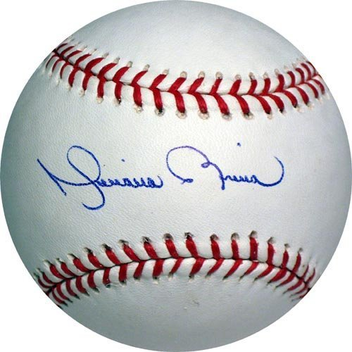 4619: MARIANO RIVERA SIGNED OFFICIAL MLB BALL -STEINER