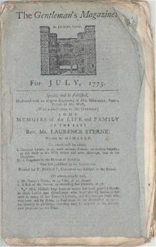 1775 BATTLE OF BUNKER HILL NEWS MAGAZINE