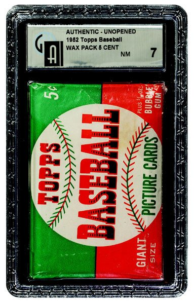 224: 1952 TOPPS BASEBALL 1ST SERIES 5 CENT WAX PACK