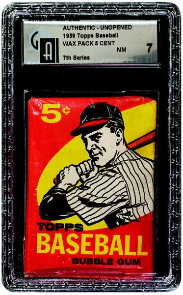 240: 1959 TOPPS BASEBALL 7TH SERIES 5 CENT WAX PACK