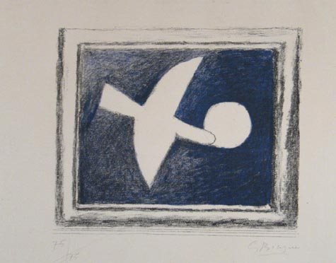 509: GEORGES BRAQUE SIGNED LTD. ED. LITHOGRAPH