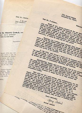 501: (ERNEST HEMINGWAY) AMAZING 74-PAGE CORRESPONDENCE