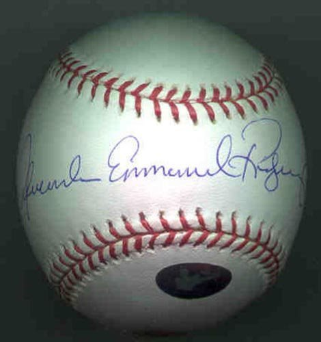 1020: ALEXANDER EMMANUEL RODRIGUEZ SIGNED MLB BALL