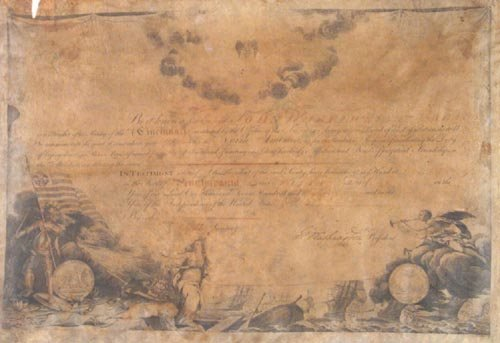 700: GEORGE WASHINGTON  DOCUMENT SIGNED