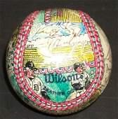 3033: DETROIT TIGERS SIGNED SOSNAK BALL - PSA