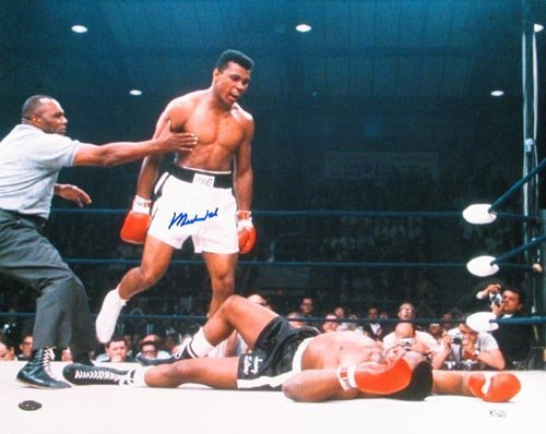4006: MUHAMMAD ALI 16X20 PHOTO SIGNED - STEINER COA