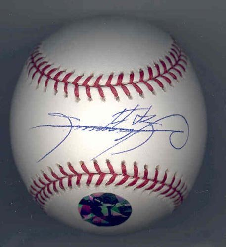 4013: SAMMY SOSA SIGNED MLB BASEBALL - PSA/DNA COA