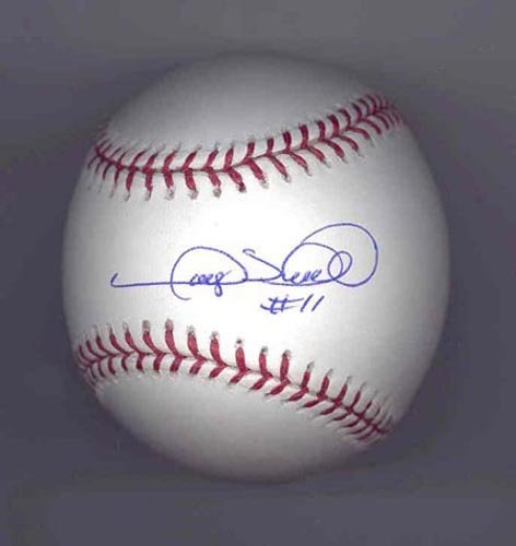 4015: GARY SHEFFIELD SIGNED MLB BASEBALL - PSA/DNA COA
