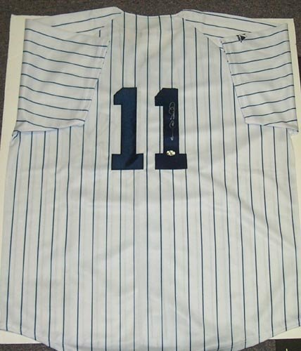 4022: GARY SHEFFIELD SIGNED YANKEES JERSEY - PSA/DNA