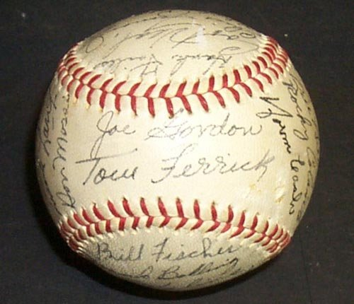 1217: 1960 DETROIT TIGERS SIGNED OFFICIAL BALL - PSA