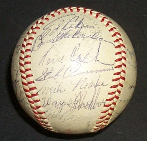 1218: 1964 DETROIT TIGERS SIGNED OFFICIAL BALL - PSA