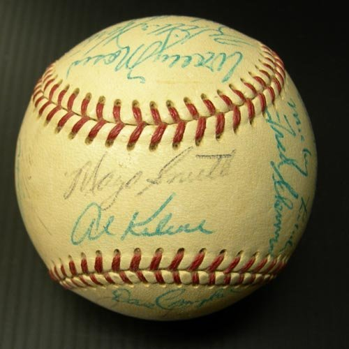 1219: 1969 DETROIT TIGERS SIGNED OFFICIAL BALL - PSA