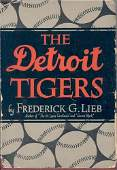 "1249: ""THE DETROIT TIGERS"" BOOK SIGNED - PSA/DNA COA"