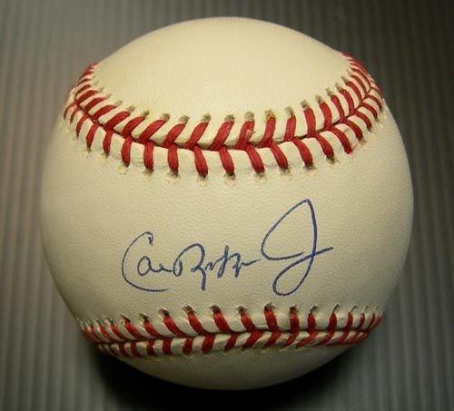 9279: CAL RIPKEN JR. SIGNED OFFICIAL BALL - PSA/DNA
