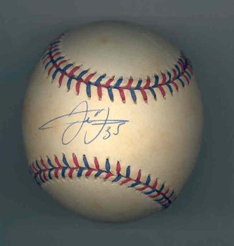 9284: FRANK THOMAS SIGNED 1996 ALL-STAR BALL - PSA/DNA