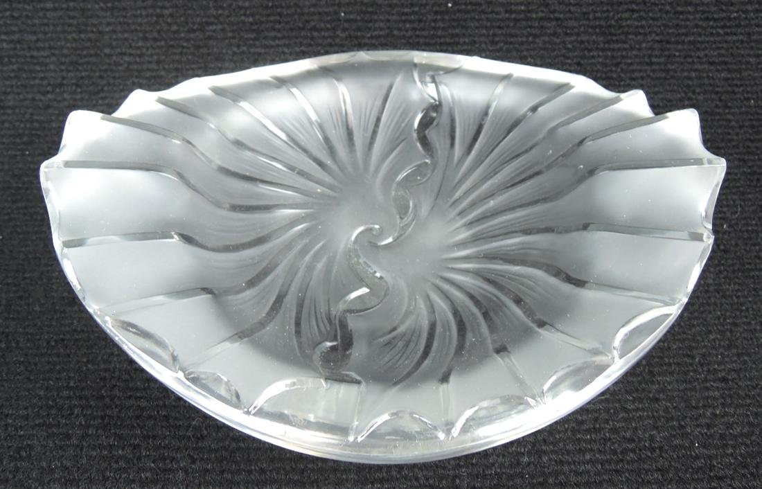 Lalique Shell Dish