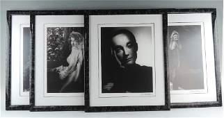 Set of 6 George Hurrell Photographs