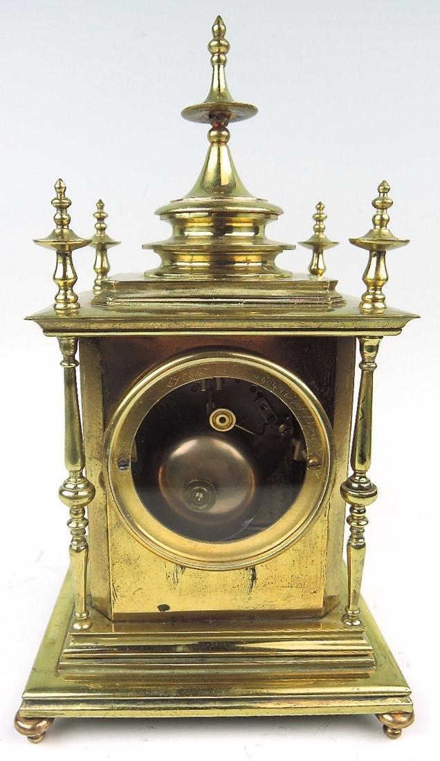 Champleve Enamel & Gilt Bronze Clock - 4
