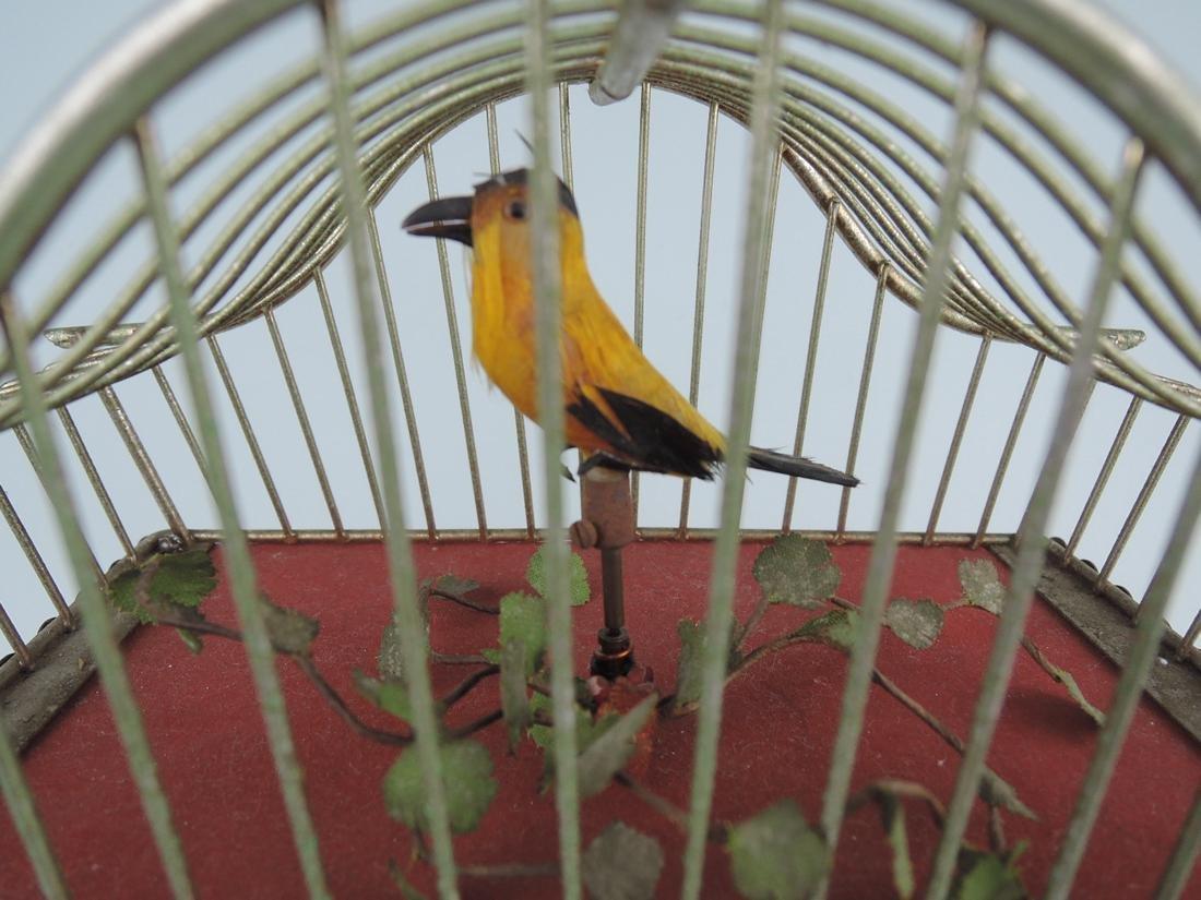 Rare Amusing Mid-Century Singing Bird Clock - 2