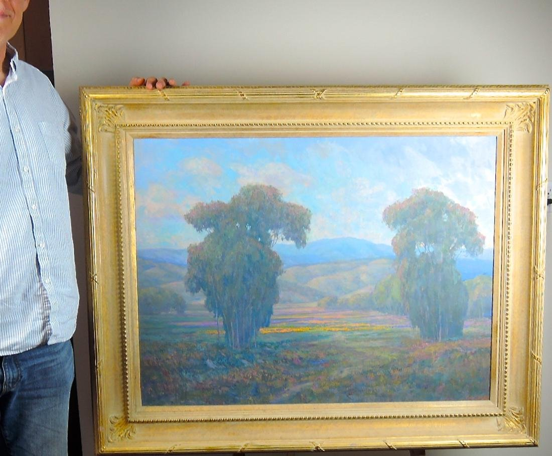 Large William Dorsey Ojai Valley Oil/Canvas
