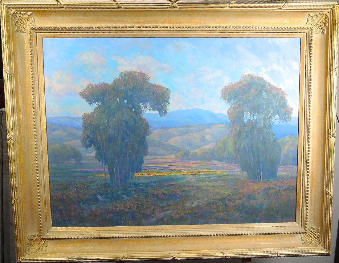 Large William Dorsey Ojai Valley Oil/Canvas - 2