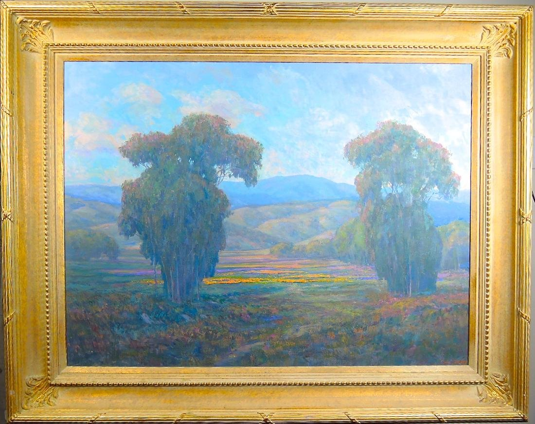 Large William Dorsey Ojai Valley Oil/Canvas - 4