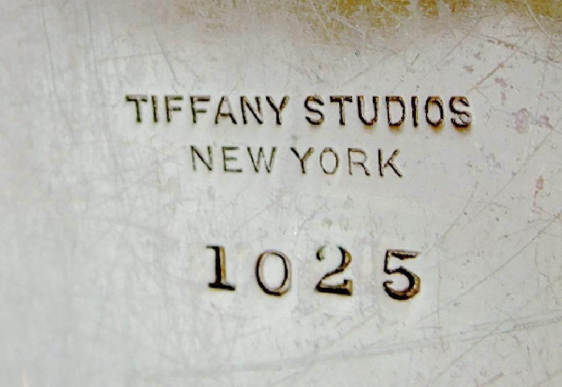 Tiffany Studios Bronze Buddha Bookends - 3