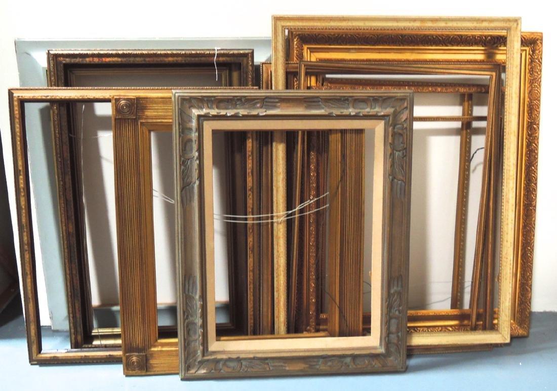 14 Assorted Vintage Picture Frames