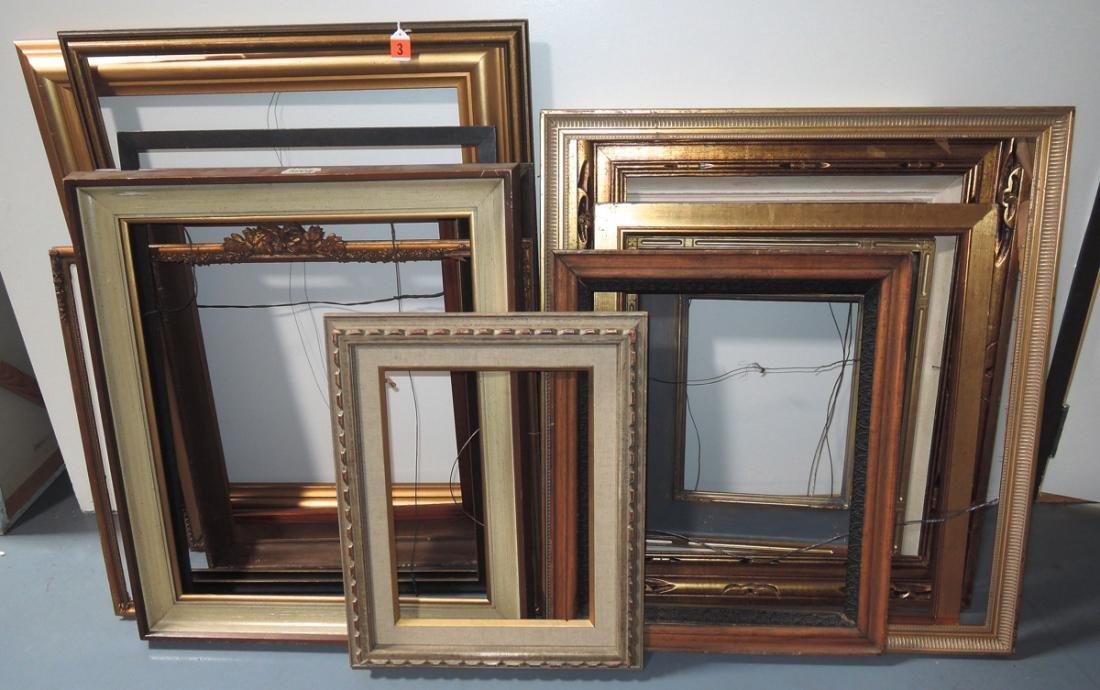 17 Assorted Vintage Picture Frames