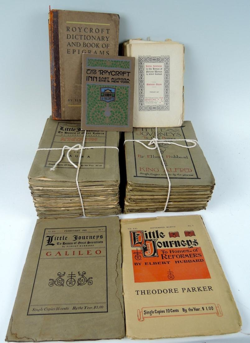 """50 """"Little Journey"""" Books by Elbert Hubbard"""