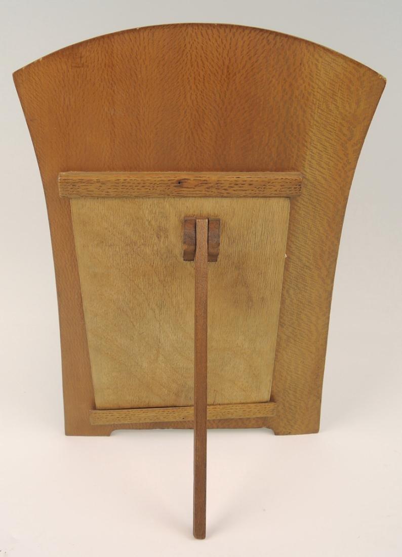 Art Nouveau Marquetry Frame - 2