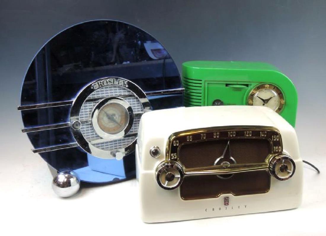 Three Vintage Radios