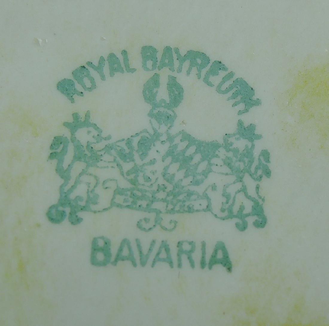 Group Rare Royal Bayreuth Devil and Cards - 3