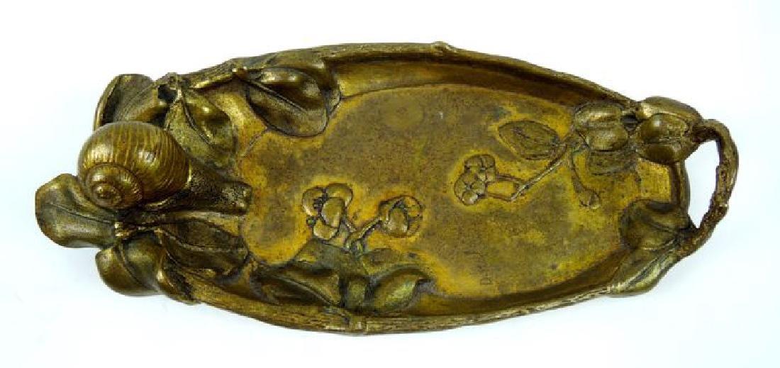 Chiparus Art Nouveau Snail Dish