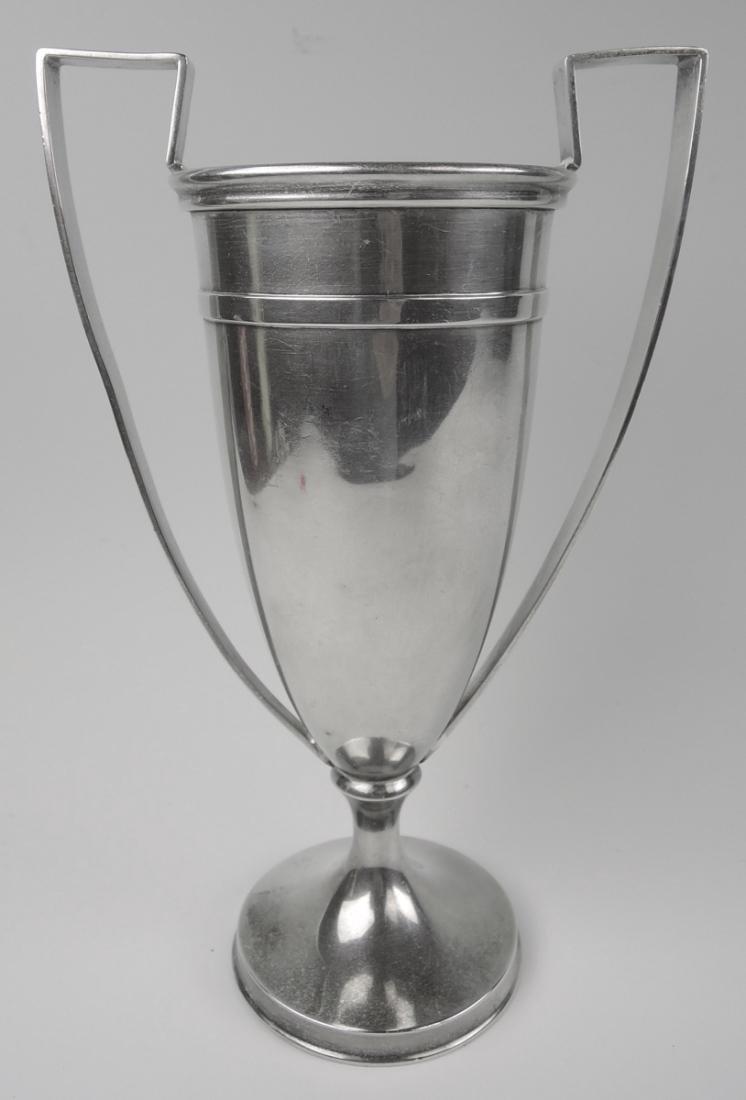 Shreve & Co Sterling & Gold Polo Trophy - 4
