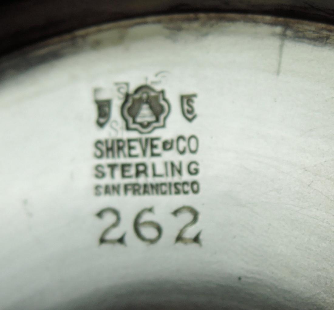 Shreve & Co Sterling & Gold Polo Trophy - 5